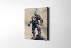 Avengers Thanos Concept Art 002  Framed Canvas Print
