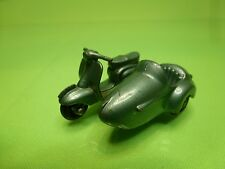 LESNEY MATCHBOX - NO= 36  LAMBRETTA AND SIDE CAR   -  GOOD CONDITION