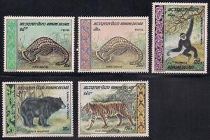 Laos   1969   Sc # 192-93, C59-61   Animals   MNH   OG   (1-351)