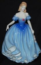 Signed Royal Doulton Lady Figurine Melissa Figure of the Year 2001 HN 3977 w Box