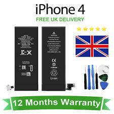 NEUF 100% Haute Capacité Batterie De Remplacement Pour iPhone 4 1430 mAh + Outils gratuits
