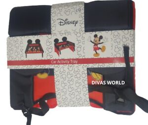 Disney Mickey Mouse Car Activity Tray Children Table Travel Play Fun New Primark