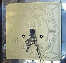 Large Vintage Marathon Gas & Oil BEAUTIFUL Wall Clock