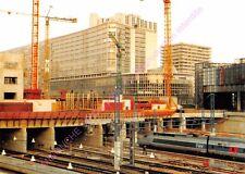 CP 75015 PARIS TRAIN TGV Travaux aménagement gare Montparnasse PHOTO MATHIOT
