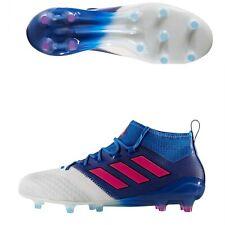 Adidas Ace 17.1 Fg/Ag Primeknit Soccer Mens Us 10.5 New Blue Blast Shock Pink
