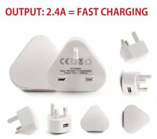 2.4A USB Mains Charger,Wall Plug for iPad Air / Air 2/ iPad4/3/2/iPad Mini 1/2/3