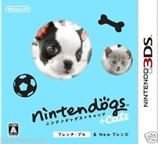 Used 3DS Nintendogs + Cats: French Bulldog   NINTENDO 3DS JAPANESE  IMPORT