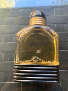 Vintage ARMANI For Men Lotion Apres Rasage Aftershave Splash 3.4 oz  64% Volume