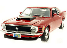 1:18 Motor Max Motormax Red 1970 Ford Mustang Boss 429  Item 73100