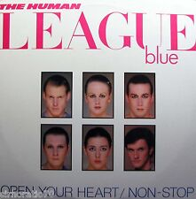 "THE HUMAN LEAGUE Open Your Heart 12"" Single - Promo"