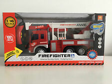 Firefighter 1:16 RC Radio Control Car Advance Simulation Model Firefighting Toy