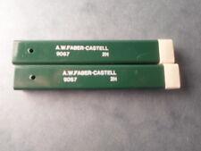 FABER CASTELL LOT DE 2 ETUIS MINES 9067 2H NEUF