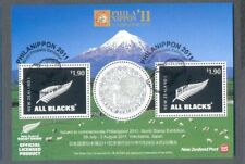 New Zealand-Philanippon 2011 all blacks Rugby min shee tfine used