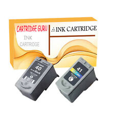 2 Remanufactured PG-40 CL-41 Ink Cartridge for Canon MP180 MP460 MP140 MP190