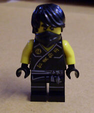 Lego Ninja Ninjago - Cole - Sleeveless Figur ( ärmellos schwarz Halstuch ) Neu