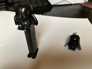 Star Wars Goodies : 2 porte-Clés Maitre Jedi+Dark Vador, 1 PEZ dark vador, R2D2