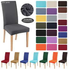 Stretch Dining Chair Covers Slipcover Seat Protector Cover Party Banquet Home US