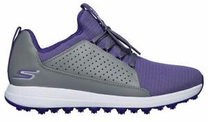 Skechers Women's Go Golf Max Mojo Golf Shoes 14887 GYPR Gray/Purple Ladies New