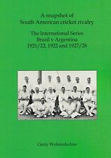 More details for signed l/e. a snapshot of south american cricket rivalry: gerry wolstenholme sb