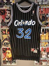Shaquille O'neal #32 Orlando Magic Nike Team Black Jersey Mens Size Medium