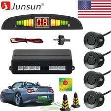 4X Parking Sensors LCD Car Auto Backup Reverse Rear Radar System Alert Alarm Kit