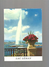 Le lac Léman Genfersee The lake of Geneva Editions Novos Lausanne REF E25