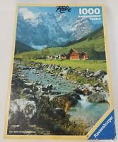 Vintage Ravensburger Landscape Mountain Nature Puzzle 1000 Pieces