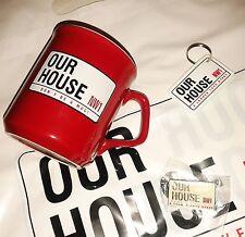 OUR HOUSE MADNESS MUSICAL - MUG + BADGE + KEYRING + BAG - SUGGS SKA TWO 2 TONE