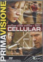 Dvd **CELLULAR** con Kim Basinger Jason Statham nuovo sigillato 2005