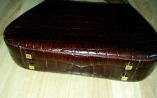 Ri2k Burgundy 100% Leather Shoulder Bag