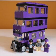 Lego Harry Potter 4866 Knight Bus 100% Complete In Mint Condition Rare