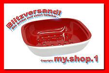 ★★★my.shop.1-1★★★ Tupper® Allegra-Servierschale + Obst-Siebeinsatz C157 NEU+OVP