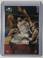 2004 Upper Deck Lebron James National Convention Card #VIP1 Cleveland Cavs