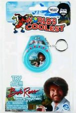 World's Coolest Bob Ross Talking Keychain Book Bag Hanger Super Impulse A1