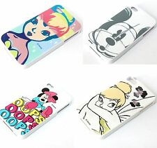 For iPhone 4 4G 4S - TPU Rubber Silicone Gummy Skin Case Cover DISNEY CHARACTERS