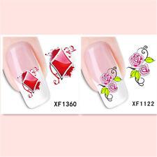 2Sheet/New Fashion Trend Beautifully Beautiful DIY Nail Stickers  XF1360+1122