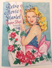 Retro Movie Starlet Paper Dolls - Glamorous 1940s wardrobe-by David Wolfe