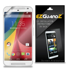2X EZguardz Screen Protector Cover 2X For Motorola Moto G 2nd Generation (2014)