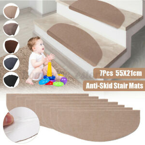 Anti-Skid Strip Mats Non-slip Carpet Stair Treads Step Rug Protection Cover CN