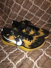 Nike Zoom Kobe 8 Sulfur Electric size 8 Black Yellow Silver