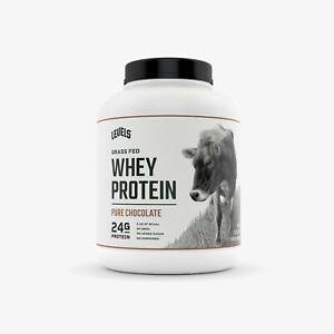 Levels Grass Fed 100% Whey Protein, Undenatured, No GMOs