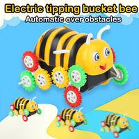 Creative Model Toy Car 360 Degree Kid Electric Tumbling Car Bee Animal Shape