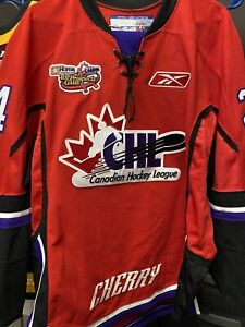 Cam Fowler Game Worn Used Jersey CHL TOP Prospects Game OHL CHERRY ANAHEIM DUCKS