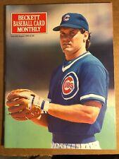 Ryne Sandberg Beckett Baseball Card Monthly, August 1990