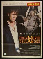 Manifesto de Morte Dell 'Amor Dylan Dog Rupert Everett Soavi Halcones M33