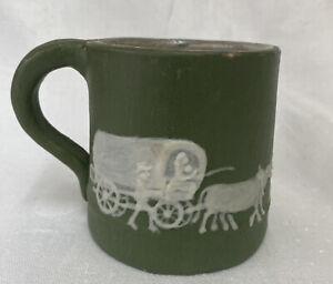 PISGAH FOREST NC Southern Art Pottery Mug  Signed Stephen 1959