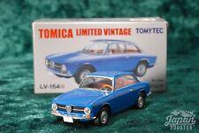 [TOMICA LIMITED VINTAGE LV-154b 1/64] ALFA ROMEO GT1300 Junior (Blue)
