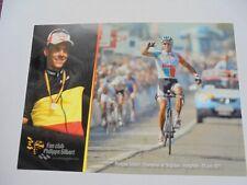 wielerkaart 2011  team lotto  philippe gilbert