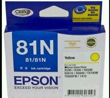 Genuine Epson (81N) Yellow  - High Yield