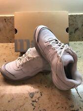 wholesale dealer b6c76 215fe Wilson Pro Staff Court Womens WRS313810 White Leather Tennis Shoes Size 8.5